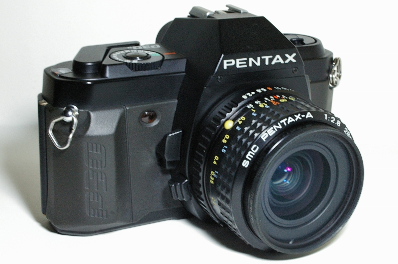 The mighty Pentax P30n, in all it's glory.